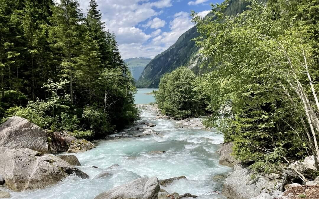 Der neue Wasserfallweg im Stilluptal Herrlich erfrischend wandern.