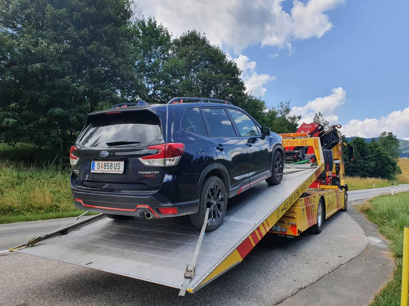 , Ein sehr geländetauglicher SUV – Subaru Forester eBoxer 2021, Travelguide.at