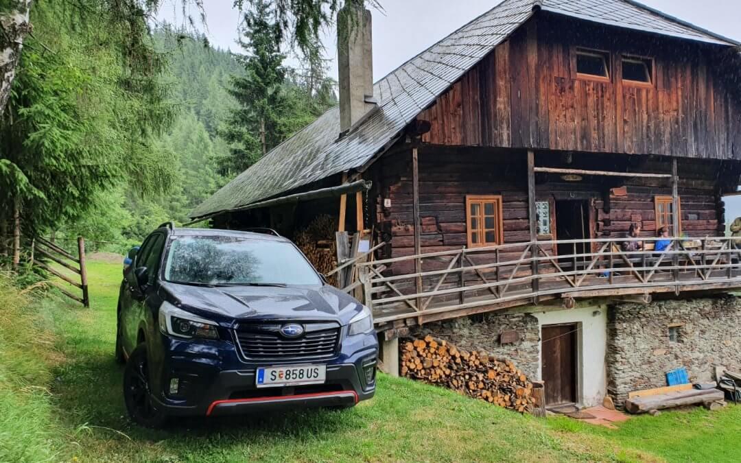 Ein sehr geländetauglicher SUV – Subaru Forester eBoxer 2021